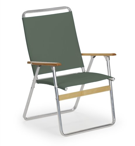 Telescope Casual Original Highback Folding Beach Arm Chair, Forest Green