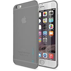 iPhone 6 Case, Ultra Slim Minimalist design by Slimtech - fits iPhone 6 (4.7) (AT&T, Verizon, Sprint, T-Mobile) Thin, Anti-Slip, Drop Resistant Protective case with scratch resistant screen protector - Eco Friendly [Lifetime Warranty] [GRAY]