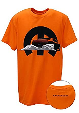 Men 39 s mopar retro dodge challenger t shirt for Amazon custom t shirts