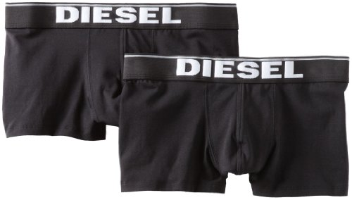 Diesel Men's Kory Two Pack Shorts,Black,Medium