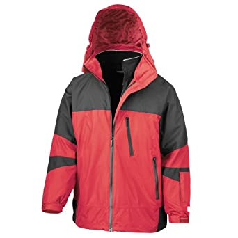 Result Mens Arctic Peninsula Hi-Tech 4-in-1 Jacket by Result