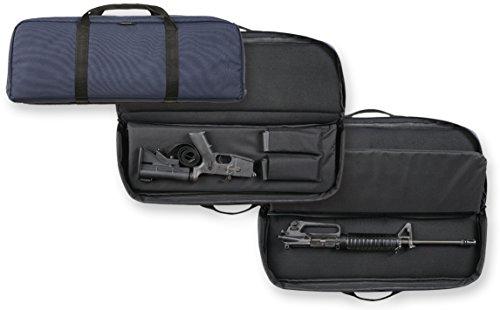 bulldog cases ultra compact discreet carry rifle case navy blue
