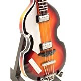 Mini guitars - chitarra replica hofner bass the beatles paul mccartney music legends collection