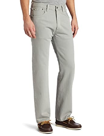 Levi's Men's 501 Original Fit Jean, Neutral Gray, 29x30