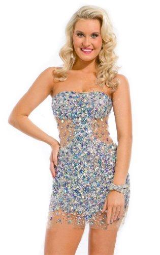 Passat Women'S 3/4 Sleeve Prom Dress Size Us26 Color Blue