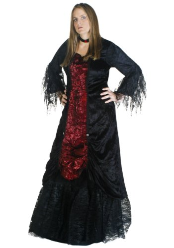 Plus Size Womens Gothic Vampire Costume