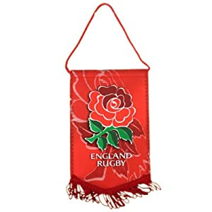 England Rugby Mini Pennant - Football Gifts from Official Football Merchandise