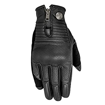 Alpinestars Rayburn Leather Motorcycle Glove - Black - Medium