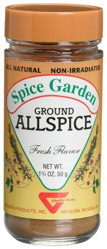Spice Garden Allspice, Ground, 1.75-Ounce Glass