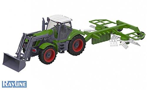 efaso RC Traktor mit Heuwender