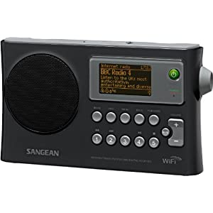 Sangean America, Inc. WFR-28 Portable Wifi Internet Radio - Black