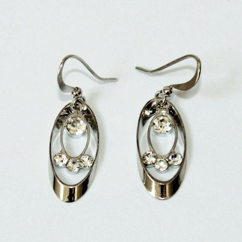 Custom Fashion Jewelry Earrings White