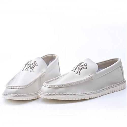 WalkWalk Ruber Pu Cloth Breathable Summer Fashion Leisure British Style Men Doug Shoes