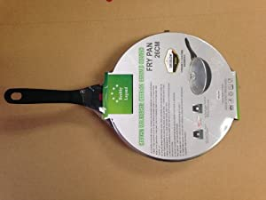 "10.4"" Fry Pan with Non-stick German Weilburger Ceramic Coating By Healthy Legend -Eco Friendly Non-toxic Cook"