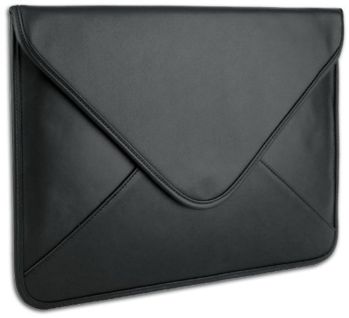 Coloured Leatherette Notebook Laptop Computer Sleeve Envelope Carrying Turn out that in the event of designed for 13.3 inch Lenovo IdeaPad Yoga / Samsung Series 5 and 9 Ultrabook