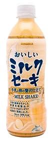 サンガリア おいしい ミルクセーキ 500ml×24本