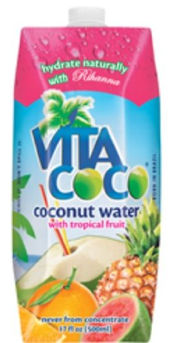 Vita Coco Coconut Water  Tropical Fruit, 17oz