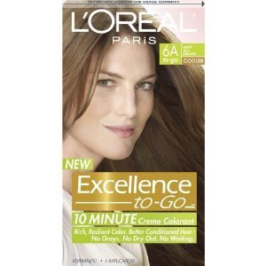 6A Light Ash Brown 10 Minute - 2 Pack : Chemical Hair Dyes : Beauty