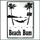 Sticker Beach Bum