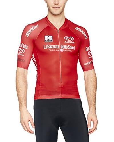 Santini Maillot Ciclismo Giro d'Italia 2016 King of the Mountain Blanco