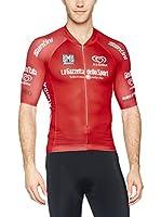 Santini Maillot Ciclismo Giro d'Italia 2016 King of the Mountain (Rojo)