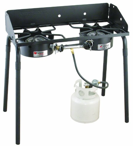 Camp Chef Explorer Series EX-60LW 2-Burner Modular Cooking System, Black