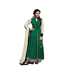 Jinaam Dress Women's Cotton Semi-stitched Salwar Suit Dupatta Material (QP-7QN8-4Q03)