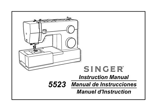 Singer 5523-SCHOLASTIC Sewing Machine/Embroidery/Serger Owners Manual (Scholastic Singer Sewing Machine compare prices)