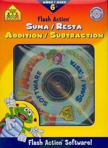 Flash Action Addition & Subtraction (Spanish) front-891496