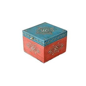 Wooden Hand Painted Decorative Box