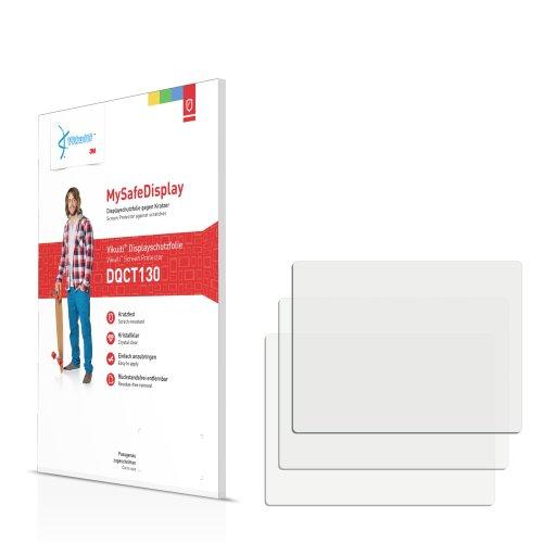3x Vikuiti MySafeDisplay Displayschutzfolie DQCT130 von 3M passend für Samsung i5