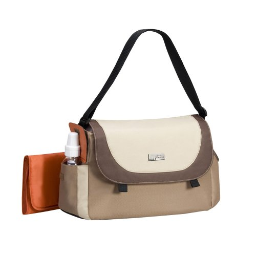 Jeep Flap Front Diaper Bag  Khaki (Large)