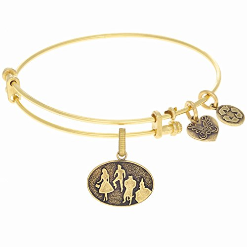 Angelica Ladies The Wizard Of Oz Collection Bangle Charm 7.25 Inches (Adjustable) GEL1261