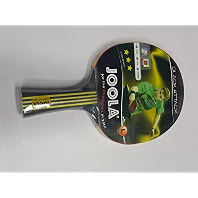 JOOLA BLACK ATTACK TABLE TENNIS RACKET