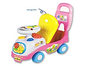 Smart Picks Smart Picks Battery operated with lights and musics Cartoon Ride on Car