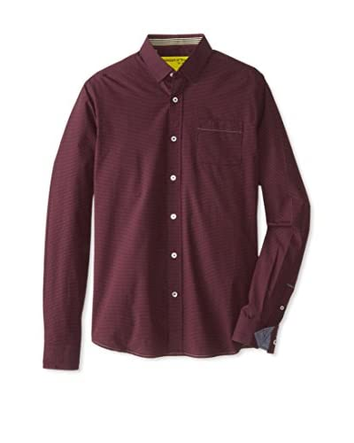 Descendant of Thieves Men's Intoxicated Reserva Check Long Sleeve Shirt