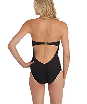 LUXE By Lisa Vogel - Mrs. Bond Maillot-Multi 8 at Amazon Women's