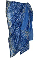 Blue Multi Pattern Cotton Sarong