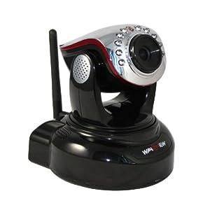 iClever® Wansview Überwachungskamera NCH536MW steuerbare Pan Tilt WLAN ip cam IP ,H.264 Mega Pixel HD/Night Vision/2 Way Audio.Für MAC / Windows / Linux / Android und IPhone! Deutsche teschnische Hotline!  BaumarktBewertungen