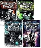 Derek Landy Skulduggery Pleasant 4 Books Pack Set Collection RRP £33.96 (1. Skulduggery Pleasant , 2. Playing with Fire , 3. The Faceless Ones , 4. Dark Days) (Skulduggery Pleasant)