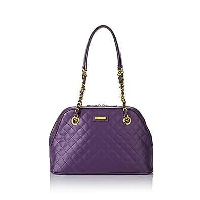 IMAN Platinum Jet, Set! Quilted Leather Handbag: Handbags: Amazon.com