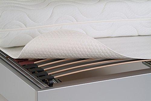 Bnp coprirete letto bianco wei 80 cm x 200 cm - Coprirete letto ...