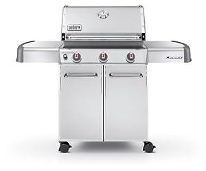 Weber Genesis 6550001 S-310 Stainless-Steel 637-Square-Inch 38,000-BTU Liquid-Propane Gas Grill