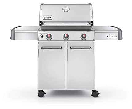 Weber Genesis 6550001 S-310 Stainless-Stee​l 637-Square-Inc​h 38,000-BTU Liquid-Propane Gas Grill