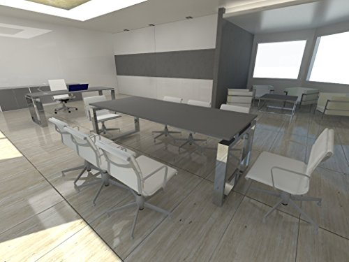 mesa-de-reuniones-ofiplus-200x80cm-marco-cerrado-gris-envio-gratuito-a-peninsula