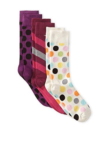 Discount 83% Happy Socks Women's 3-Pack Sock Set | dustymcfly.com
