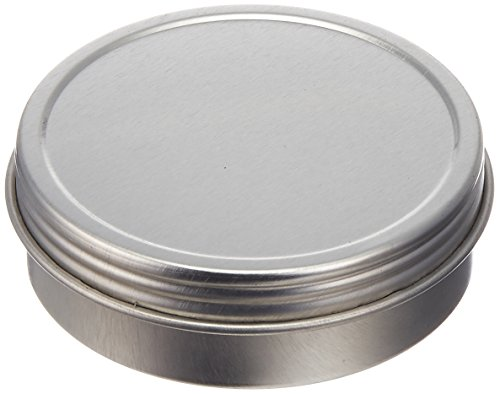 Paper Mart 6518200P Screw Top Round Steel Tins, 2-Ounce, 24-Pack (Metal Container With Lid compare prices)