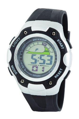 Dunlop DUN-238-G01 - Orologio da polso, uomo, plastica, colore: nero