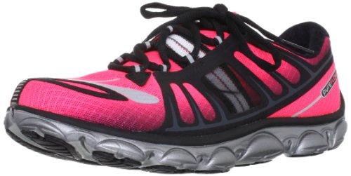 Browar Timing Systems - Sneaker PureFlow2, Donna, rosa (Pink/Black/Silver/White), 44 (9.5 UK)