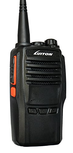 LUITON LT-188H VHF 10watts Handheld Ham Radio with Free Programming Cable 136-174Mhz 10 miles Long Distance Amateur Two-Way Radios (Black)